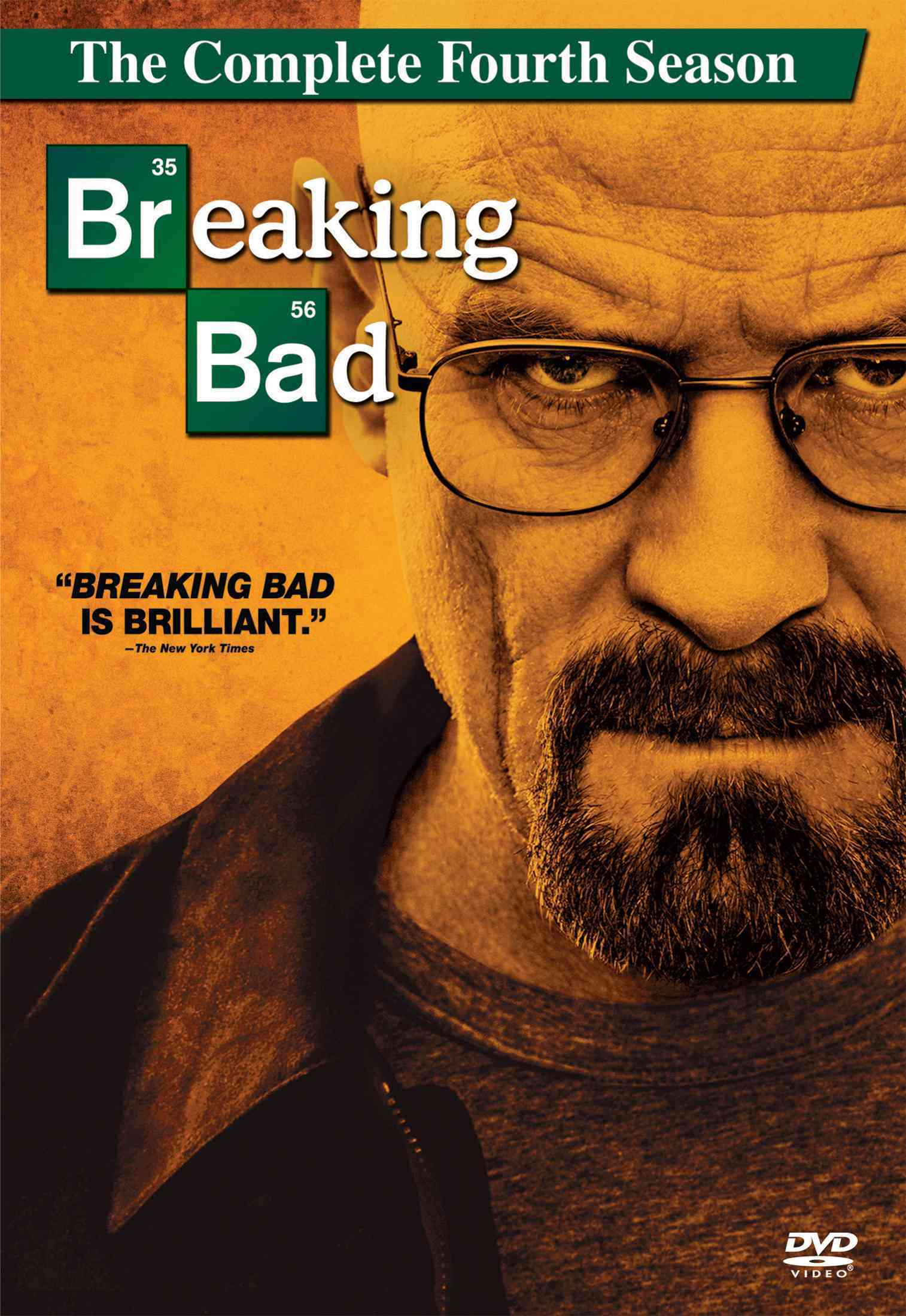 BREAKING BAD:COMPLETE FOURTH SEASON BY CRANSTON,BRYAN (DVD)