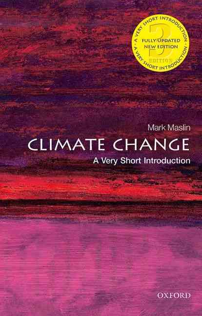 Climate Change By Maslin, Mark